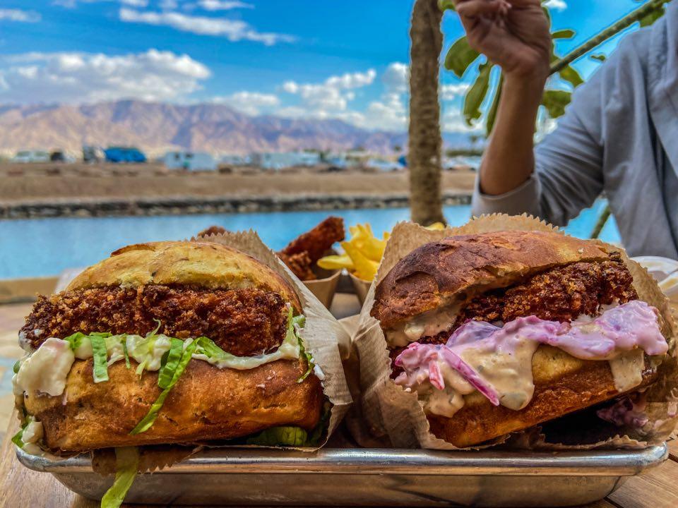 המסעדות הטובות ביותר ב אילת - המבורגר בלוויתן