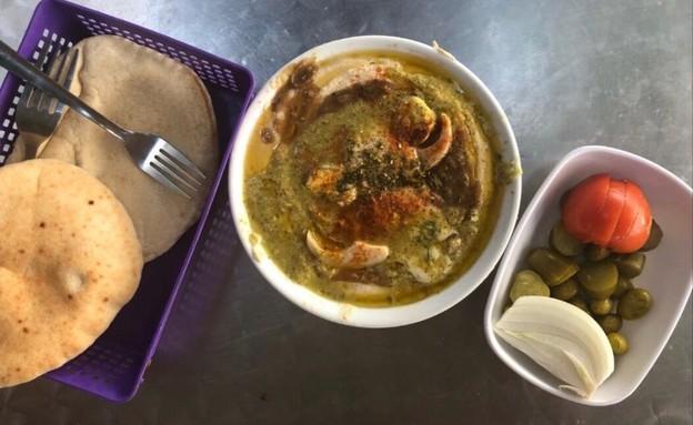 המסעדות הטובות ביותר ב נתניה - חומוס עוזי