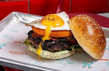 המסעדות הטובות ביותר ב הרצליה - Roberta's Burger